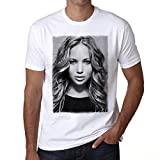 One in the City Jennifer Lawrence 1 T-Shirt,Cadeau,Homme,Blanc,t Shirt Homme
