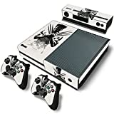 #7: Elton The-Wolverine Theme Skin Sticker Cover for Xbox One Console, Kinect & Controllers