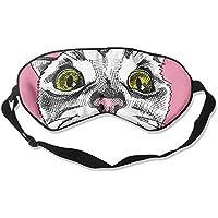 Comfortable Sleep Eyes Masks Bow Tie Cat Illustrator Pattern Sleeping Mask For Travelling, Night Noon Nap, Mediation... preisvergleich bei billige-tabletten.eu