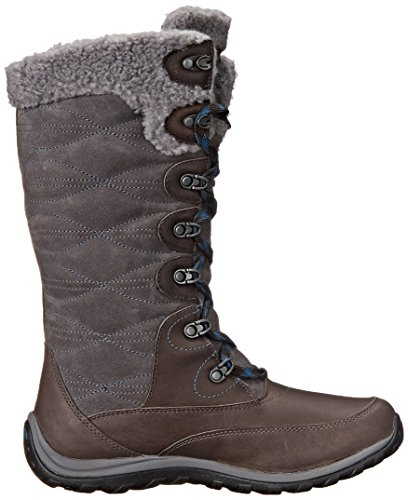 Timberland Women's Willowood WP Insulated Winter Boot, Dark Grey, 10 M US Dark Grey