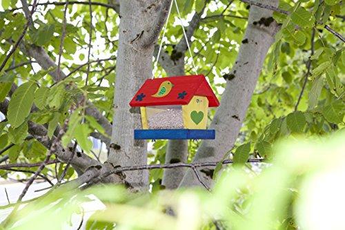 Windhager Vogelfuttersilo-Bausatz Woodpecker, beige -