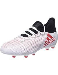 hot sale online f6e1a ebaea Adidas X 17.1 Fg, Scarpe da Calcio Unisex-Bambini, Grigio (Grey