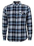 Wrangler Herren LS 1PKT Flap Shirt Freizeithemd, Navy, Gr.: XXL