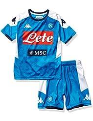 SSC Napoli Kit Gara Home Bambino 2019/2020, Blu, 14 anni