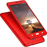 SAMSUNG GALAXY J7 MAX iPAKY 360 High Quality Protective Case And Tempered Glass(RED)