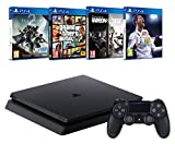 Pack PS4 1To + FIFA 18 + GTA V + Destiny 2 + Rainbow Six: Siege
