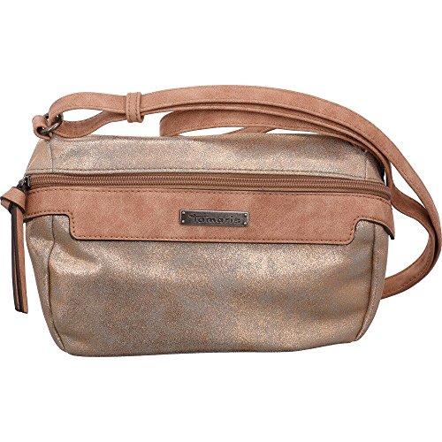 Tamaris Damen Ava Crossbody Bag Umhängetasche, Gold (Copper Comb.), 9,5x16x24,5 cm (Ava Bag)