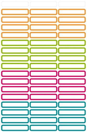 Avery Zweckform Penne Etichette Bianco 31X 6mm, 51Etichette