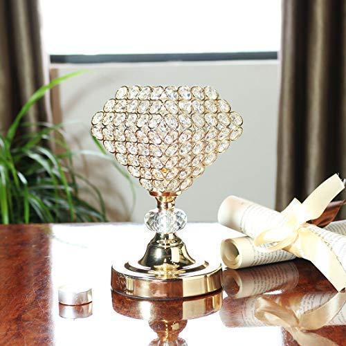 Desconocido H&D - Portavelas Cristal Forma candelabro