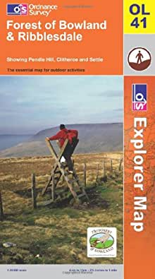 Forest of Bowland and Ribblesdale (Explorer Maps) (Explorer Maps) (OS Explorer Map)
