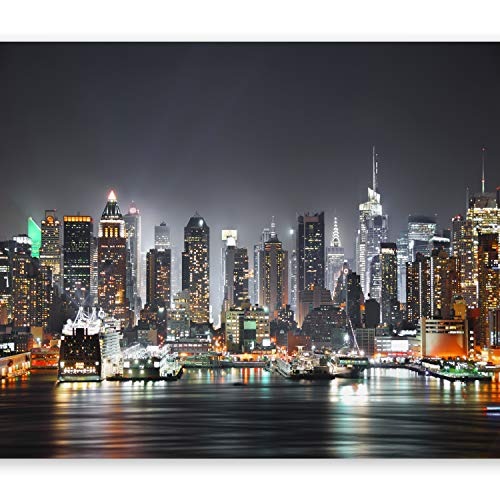 murando - Fototapete New York 200x140 cm - Vlies Tapete - Moderne Wanddeko - Design Tapete - Wandtapete - Wand Dekoration - Stadt City New York d-B-0034-a-c