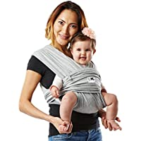 Baby K'Tan Cotton Baby Carrier Heather (Small, Grey)