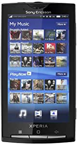 Sony Ericsson Xperia X10 Sim Free Mobile Phone - Black (discontinued by manufacturer)