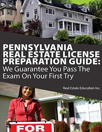 download epub pennsylvania real estate license preparation guide
