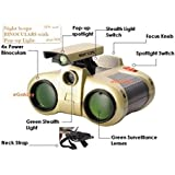Mahvi Toys Night Scope Spy Binoculars With Pop-Up Light