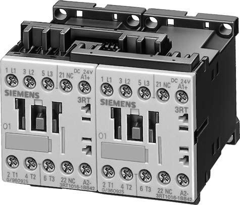 SIEMENS SIRIUS - COMBINACION CONTACTOR AC-3 4KW 400V 3 POLOS TAMAñO S00 CORRIENTE ALTERNA 48V