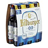 Bitburger 0,0% Pils Alkoholfrei Mehrweg (6 x 0.33 l)