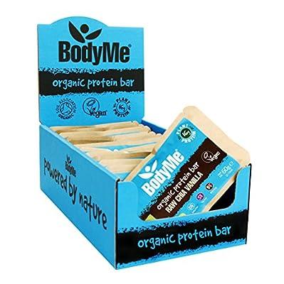 BodyMe Organic Chia Vanilla Vegan Protein Bar, 60 g by BodyMe