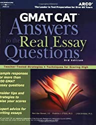 GMAT CAT: Answers to the Real Essay 3rd (Arco GMAT Answers to the Real Essay Questions)
