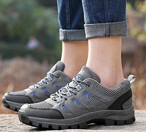 Z&HX sportsScarpe da trekking scarpe sportive traspiranti nere calzature antisdrucciolevoli scarpe esterne gray