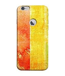 Fuson Designer Back Case Cover for Apple iPhone 6 (Logo View Window Case) (Vertical Walls Lines Blocks )
