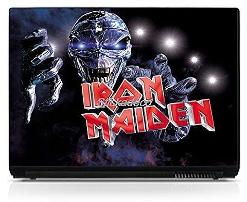 Stickersnews - Stickers PC portable Iran Maiden Dimensions - 15.6