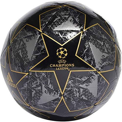 adidas Fussball UCL Finale 2019 Capitano Black/Utility Black/Iron met./Gold met. 4