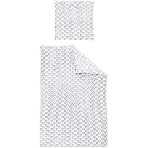 Irisette Mako-Satin Bettwäsche Capri 8610-11 135x200 cm + 80x80 cm
