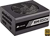Corsair RM850x Alimentation PC (Modulaire Complet, 850 Watt, 80 PLUS Gold) Noir