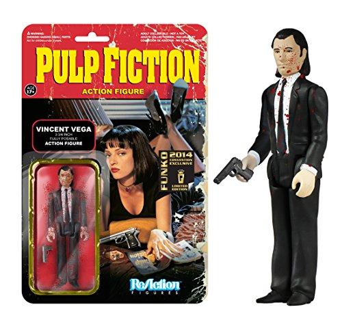 ReAction: Pulp Fiction Vincent Vega 3 3/4-Inch Retro COMICCON EXCLUSIVE