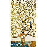 Gustav Klimt - El Árbol De La Vida II Póster Impresión Artística (70 x 50cm)