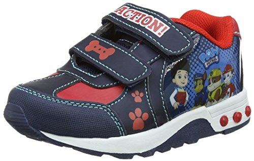 Paw Patrol Jungen Sneaker, Blau (Blue 003), 27 EU