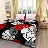#8: Monil Floral Print Reversible Poly Cotton Single Bed AC Blanket / Dohar