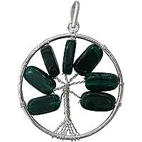 Hormonize Baum des Lebens Chakra Aventurin Chips Anhänger Spiritual Geschenk Reiki Healing Kristall preisvergleich bei billige-tabletten.eu