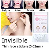Viso lifting patch adesivo invisibile Artifact Lift chin Thin Face sticker nastro adesivo make-up viso Lift Tools 40PCS