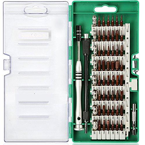 Kaisi 60 en1 Kit juego de Destornilladores de Precisión Profesional Herramientas para iphone SmartPhone PC Xbox Cámara Macbook Relojes Pequeño Electrodoméstico DIY Modelos y Otros Aparatos etc