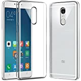 Spunky Super Soft Ultra Thin 0.3 mm Full Protection Premium Crystal Clear TPU Silicon Back Case Cover For Redmi Note 4, Transparent