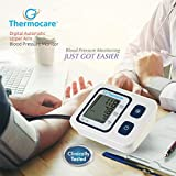 Thermon Thermocare Automatic Digital BP Monitor with USB Charging Cable (White)