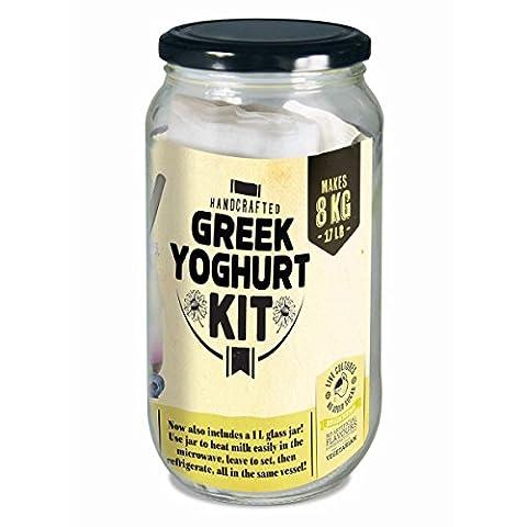 Mad Millie Greek Yoghurt Kit Makes 5-10L / 10 Quarts of Probiotic Yogurt