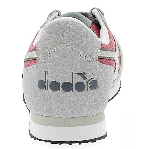 Diadora K-run C Ii, Unisexe-baskets Basses À Encolure Grise Pour Adulte