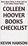 Colleen Hoover Books Checklist: Never Never Series in Order and List of All Colleen Hoover Books (English Edition)