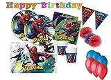 DECORATA PARTY Kit n17 - B Festa Compleanno Spiderman