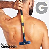 Groomarang Back-In-It Back and Body Hair Removal Device Multi Functioning And Extendable Men