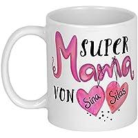 My Sweetheart® Mama Geschenk | schönes PERSONALISIERBARES Geburtstagsgeschenk | Muttertagsgeschenk Tasse | Weihnachtsgeschenke für Frauen
