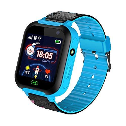 iStary Reloj Infantil Smartwatch para Niños Posicionamiento con Llamada Toque HD Pantalla Despertador Compatible Locator Menor Haz Tiempo Real Seguimiento De Ubicación Multifuncional