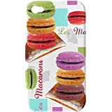 Akashi Coque pour iPhone 4/4S Macarons