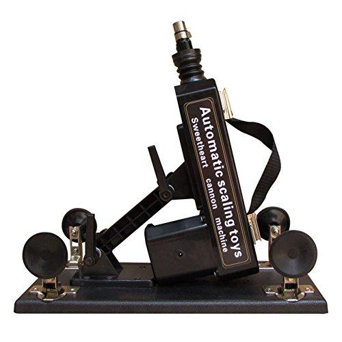Fickmaschine Glückliche Standard Sex-Maschine Automatische Love Sex-Maschinengewehr mit Dildo , 3 Hubtiefen, frei einstellbar. Schwere standfeste Ausführung! Enorme Kraft schon im untersten Stoßbereich! Ein Echt Hochmoderner Freudenspender für Frauen von Likeep ! (Fickmaschin für Frau) - 2