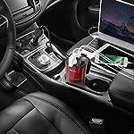 BESTEK 200W Power Inverter DC 12V to AC 230V 240V 3-in-1 Car Charger Cigarette Lighter Socket + AC Plug + Dual USB Charging Ports Voltage Converter 17