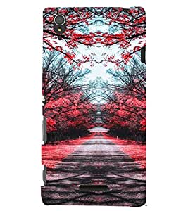 Printvisa Spring Time Scenery Back Case Cover for Sony Xperia T3