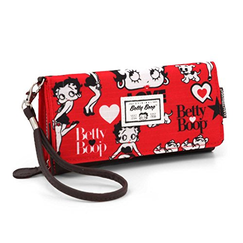 Betty Boop Rouge Münzbörse, 20 cm, Rot (Rojo)